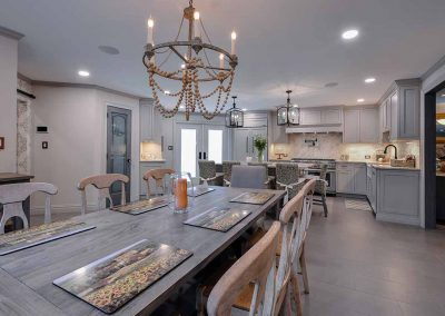 Photo from kitchen design - chic farmhouse with a touch more polished.